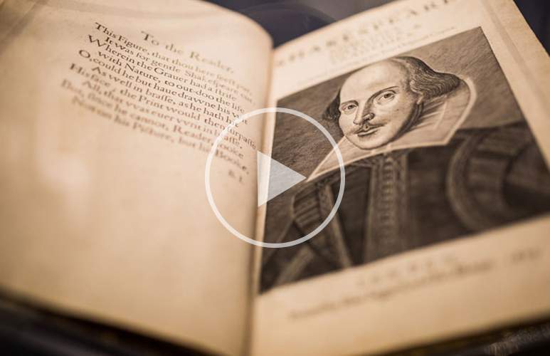 THE SECRETS OF THE FIRST FOLIO