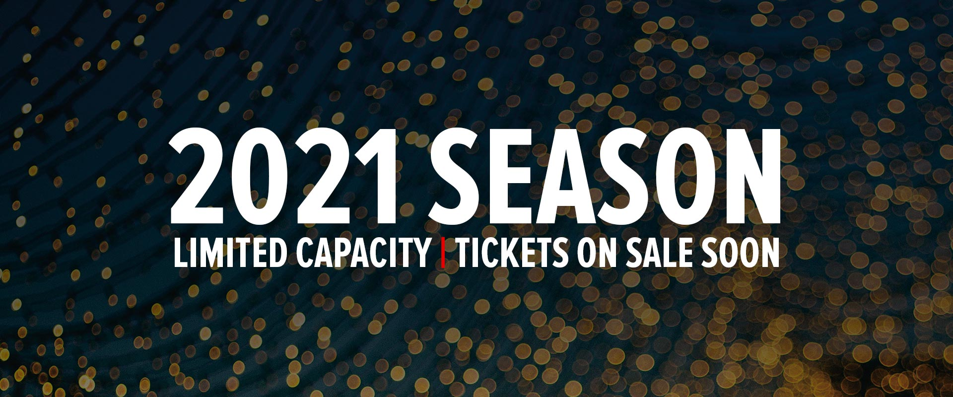 2021 Ticket on sale coming soon