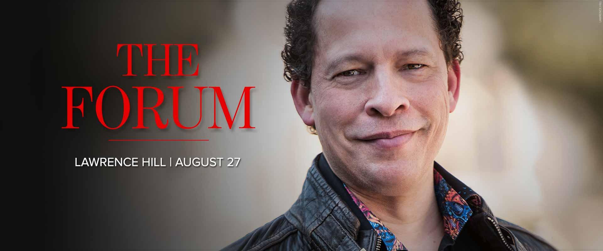 Forum image featuring Lawrence Hill