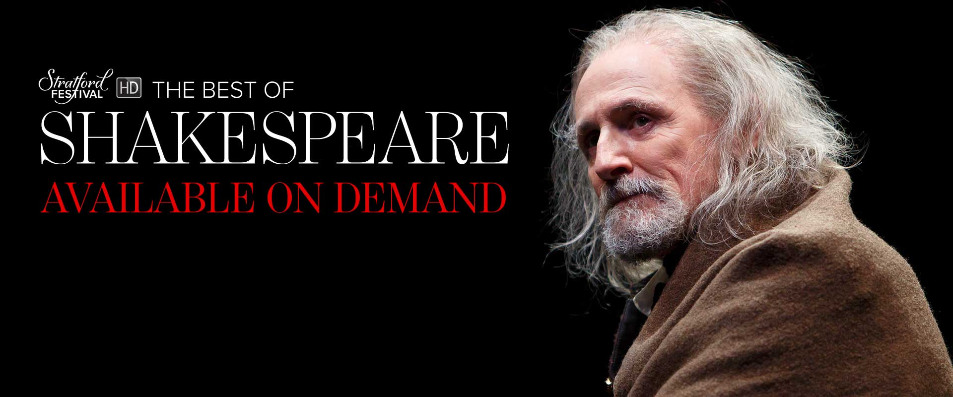The Best of Shakespeare Available On Demand