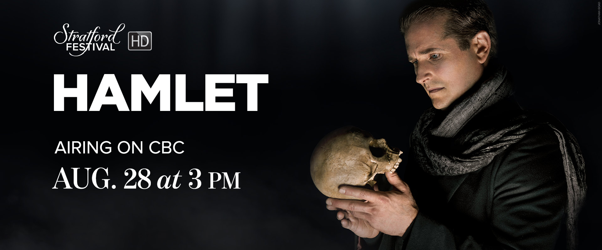 Publicity image from Hamlet