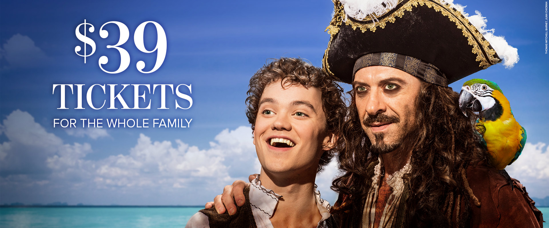 Publicity image from Treasure Island linking to Family Day Deal