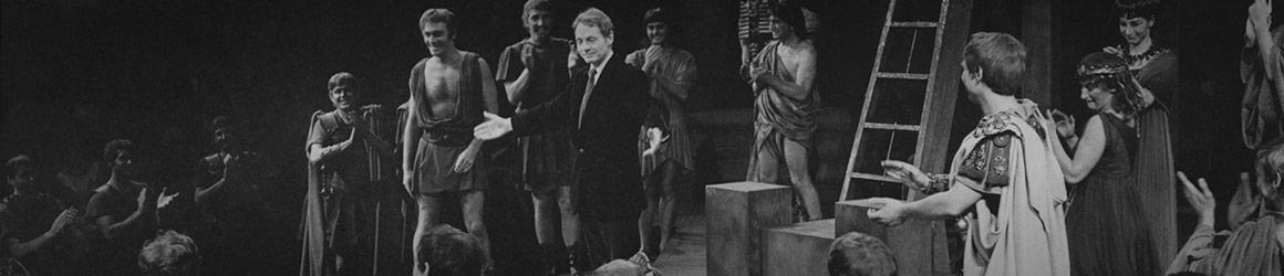 Archival photograph of Michael Langham