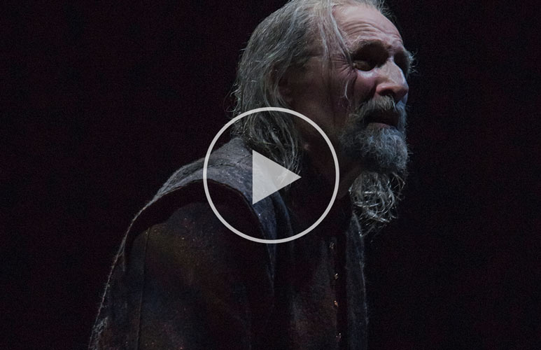King Lear - The aging King of Britain
