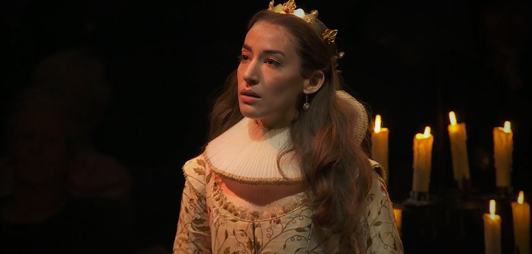 On the run image of Cordelia from King Lear