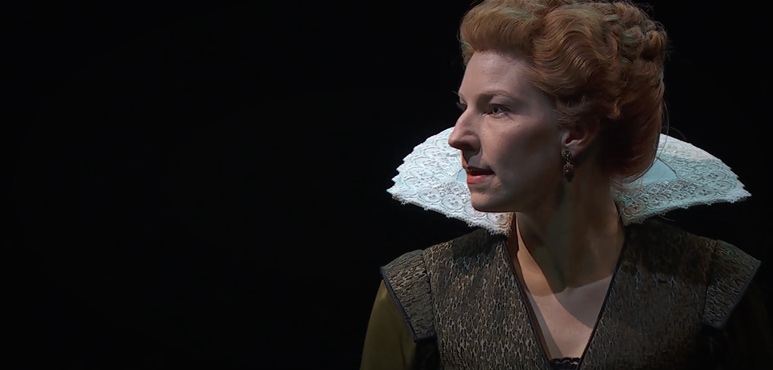 On the run photo of Goneril from King Lear