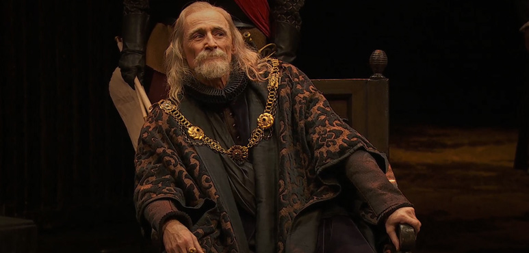 On the run photo of King Lear from King Lear