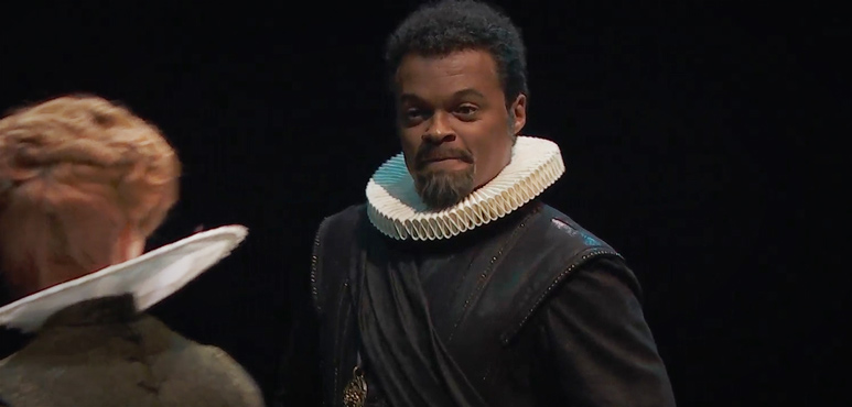 On the run image of The Duke of Albany from King Lear