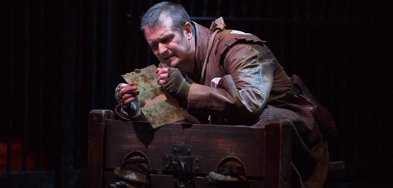 Jonathan Goad as Kent in King Lear. Photography by David Hou.