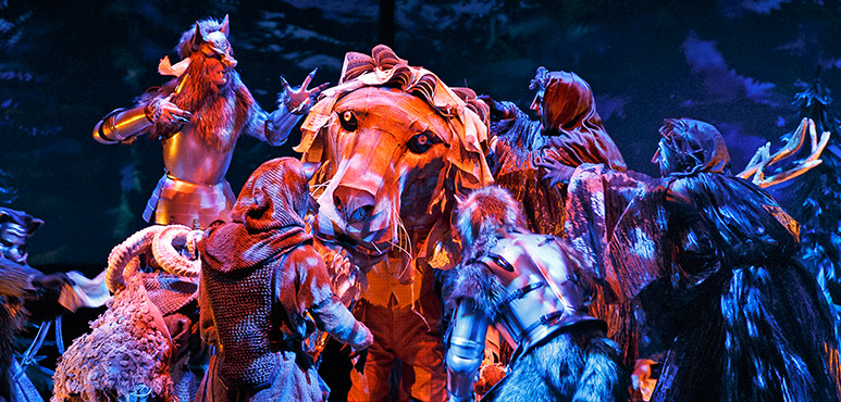 Members of the company in The Lion, the Witch and the Wardrobe (2016).