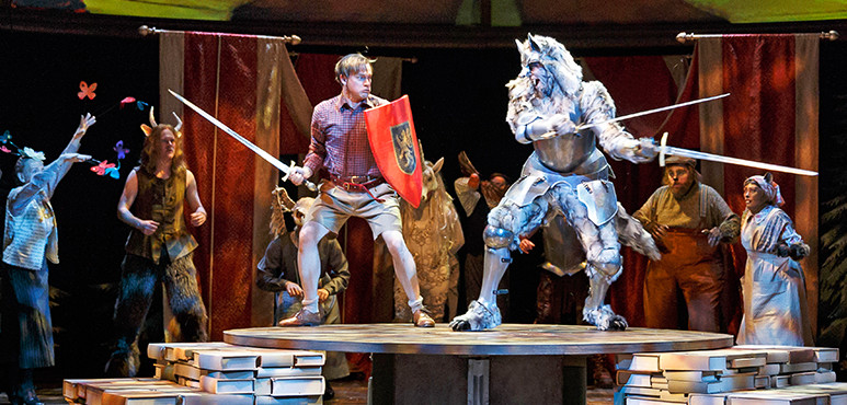The Lion The Witch And The Wardrobe  Study Guide  Stratford Festival Members Of The Company In The Lion The Witch And The Wardrobe  Science Fiction Essays also How To Write Essay Papers  Essay On Science And Technology