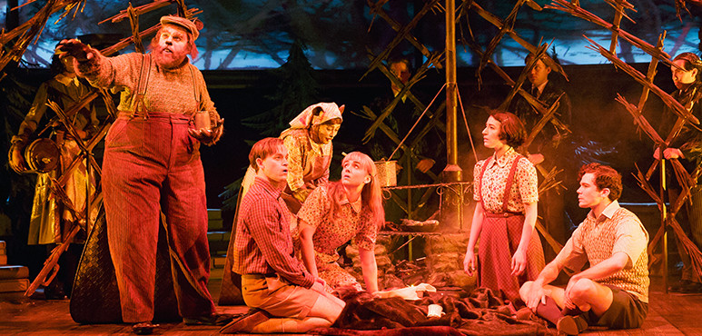 Members of the company in The Lion, the Witch and Wardrobe (2016).