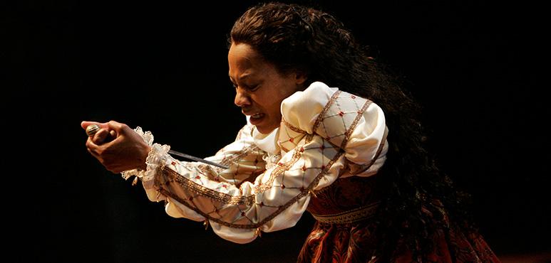 Romeo and Juliet, 2008.  Nikki M. James as Juliet.