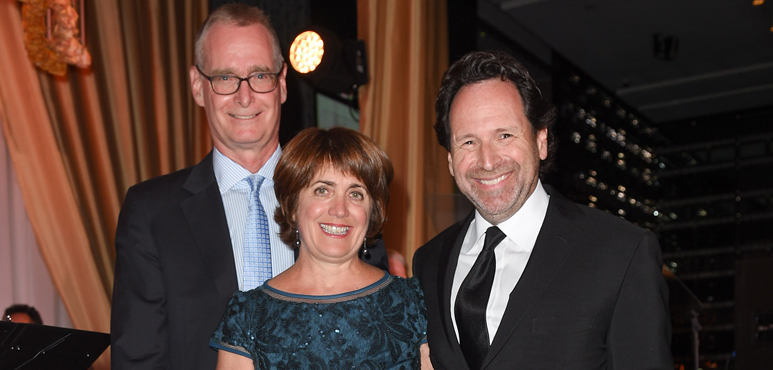 Rob Badun, Wendy Pitblado and Barry Avrich at the 2016 Stratford Festival Gala. Photo by George Pimentel.