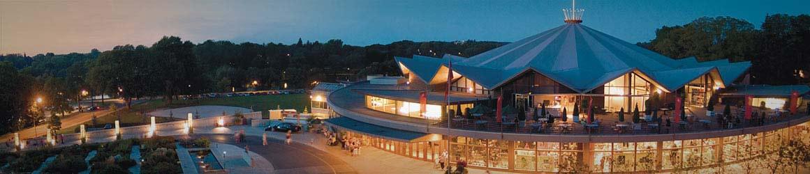 Photograph of the festival theatre