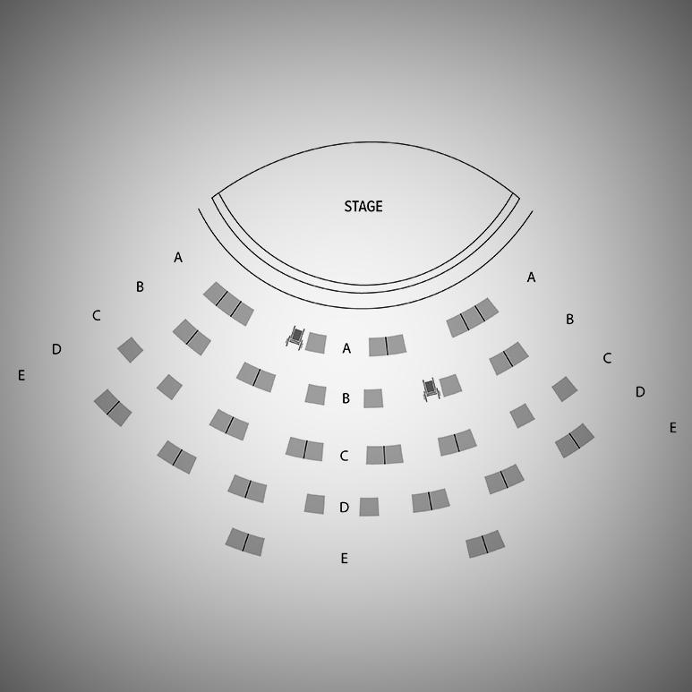 Lazaridis Hall Seating Map
