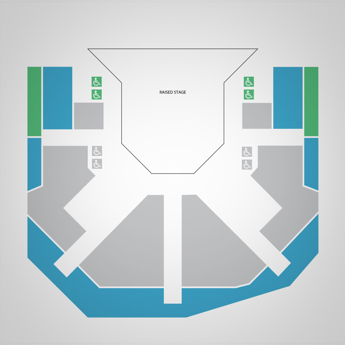 Studio Theatre Seat Map