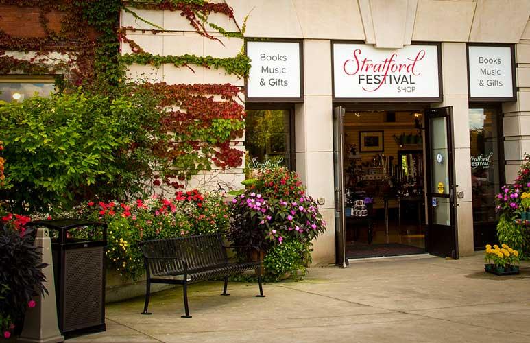 Exterior of Stratford Festival Shop