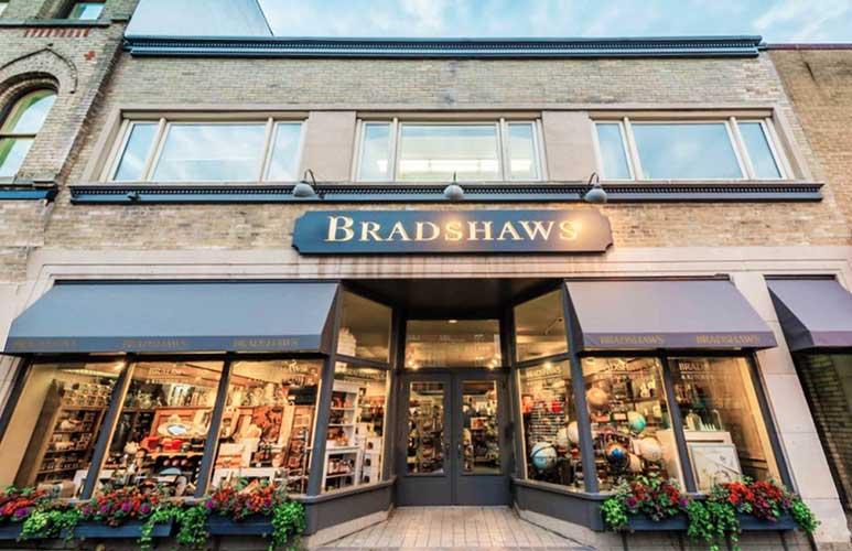 Bradshaws storefront