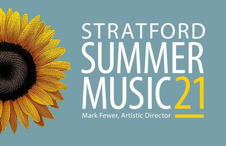 Stratford Summer Music 21 - Mark Fewer, Artistic Director - image of sunflower