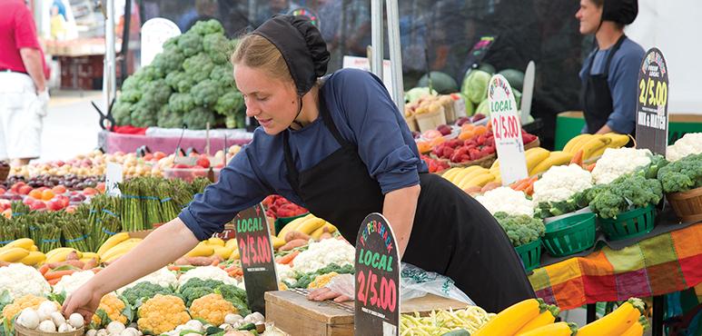 Stock photo of St Jacob's Farmers Market