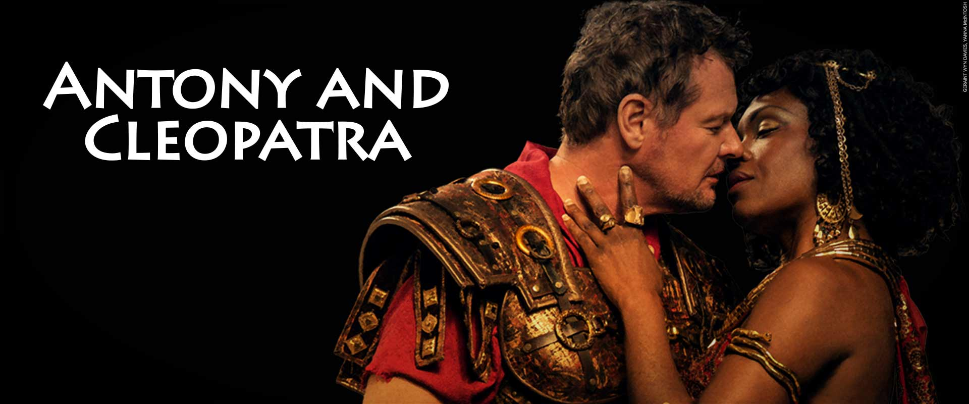 Geraint Wyn Davies and Yana McIntosh in Antony & Cleopatra