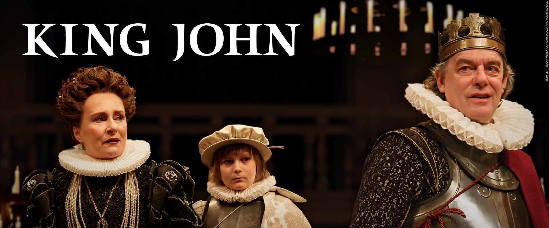 Tom McCamus and Seana McKenna in King John