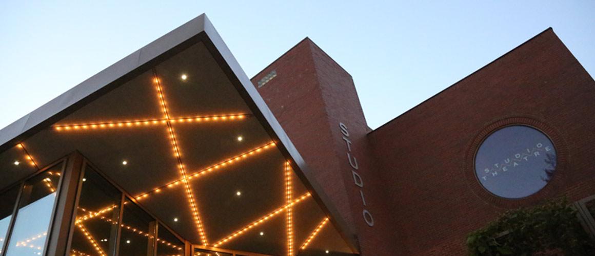 Archival image of the Studio Theatre