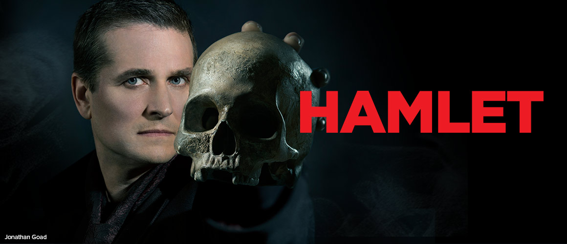 Hamlet Publicity Photo - Jonathan Goad. Photo by Don Dixon.
