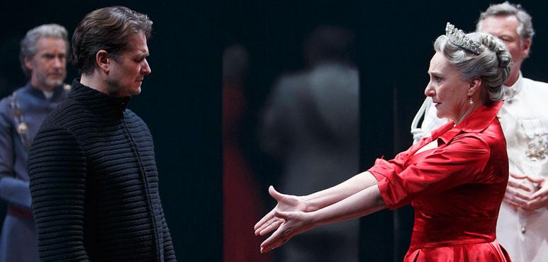 Production photo from Hamlet