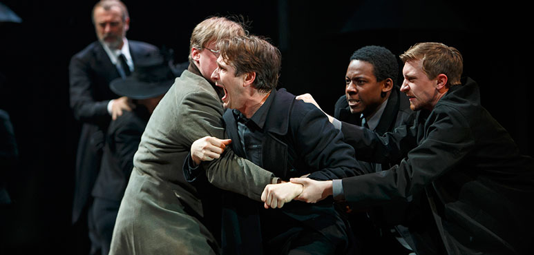 Production photo from Hamlet