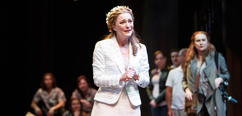 Brigit Wilson as Duchess Senior with members of the company. Photography by David Hou.