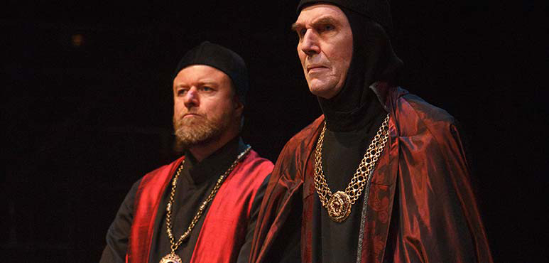 Randy Hughson (left) as Duke of York and Stephen Russell as John of Gaunt. Photography by David Hou.