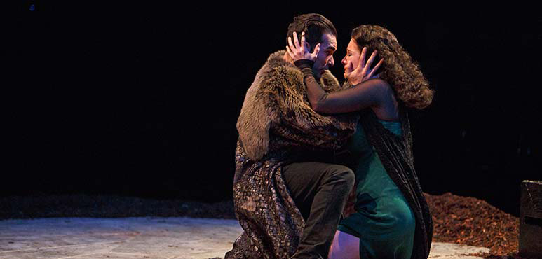 Johnathan Sousa as Hotspur and Carly Street as Lady Percy. Photography by David Hou.