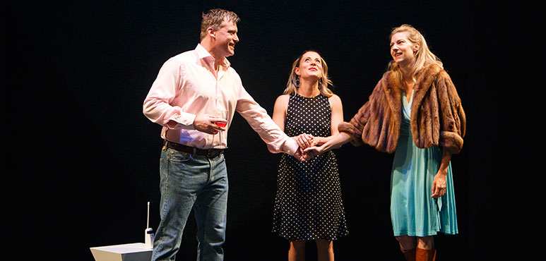 From left: Tim Campbell as Carol, Krystin Pellerin as Maggie and Maev Beaty as Sorrel. Photography by David Hou.
