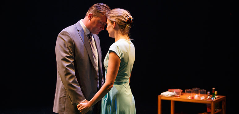 Tim Campbell as Carol and Maev Beaty as Sorrel. Photography by David Hou.