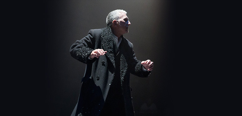 Scott Wentworth as John Gabriel Borkman. Photography by David Hou.