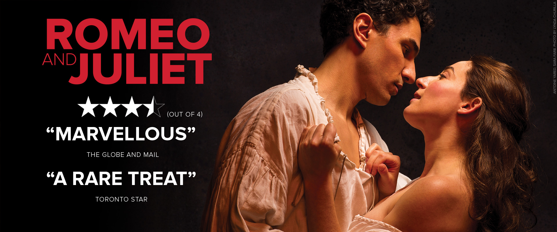 Publicity image from Romeo and Juliet