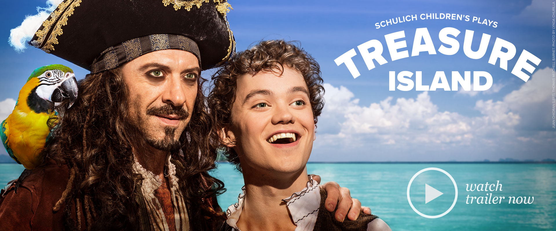 Publicity image from Treasure Island featuring Juan Chioran and Thomas Mitchell Barnet