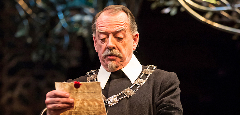 Rod Beattie as Malvolio. Photography by Cylla von Tiedemann.