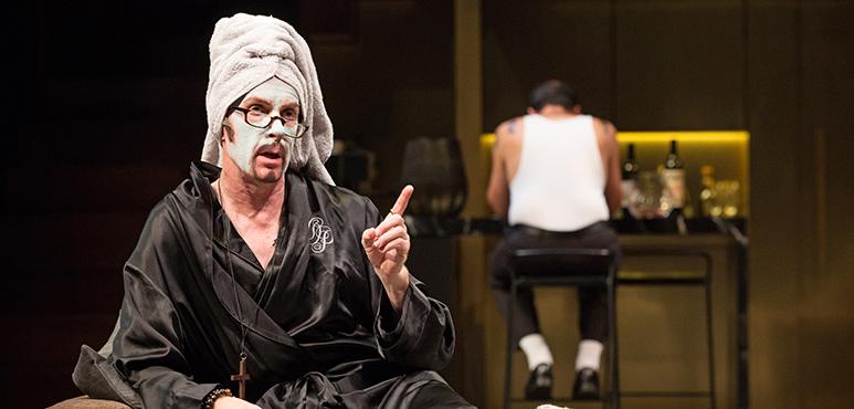 Tom Rooney as Tartuffe. Photography by Cylla von Tiedemann.