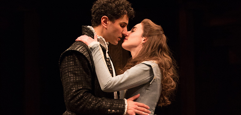 Antoine Yared as Romeo and Sara Farb as Juliet. Photography by Cylla von Tiedemann.