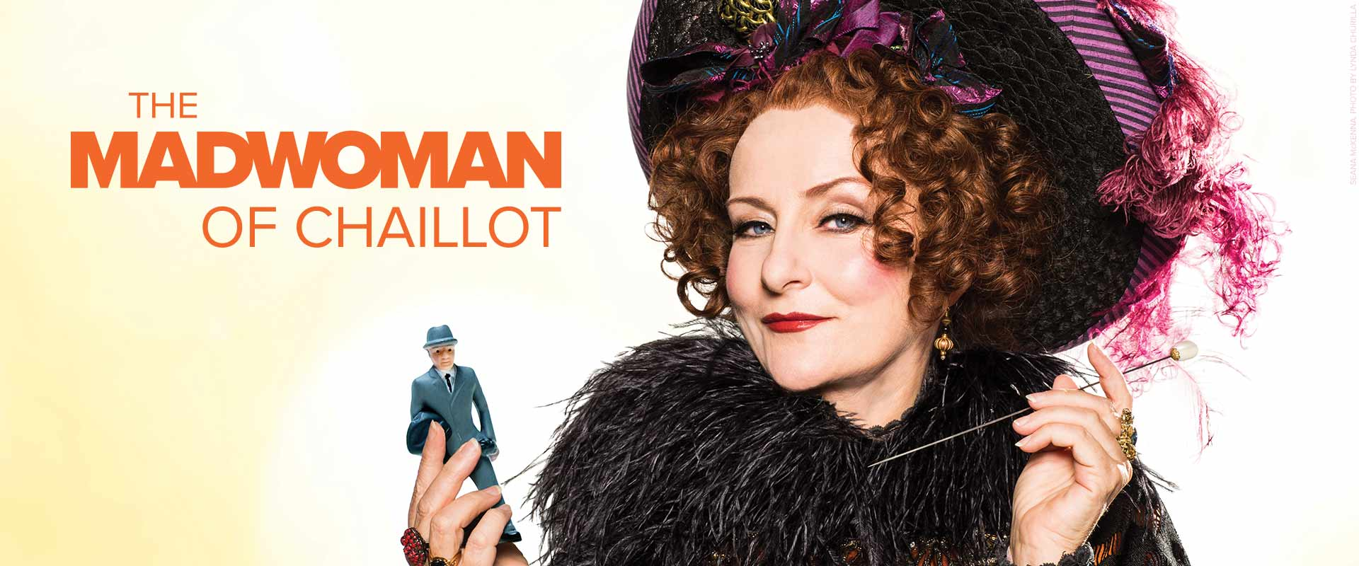 Publicity image from The Madwoman of Chaillot featuring Seana McKenna