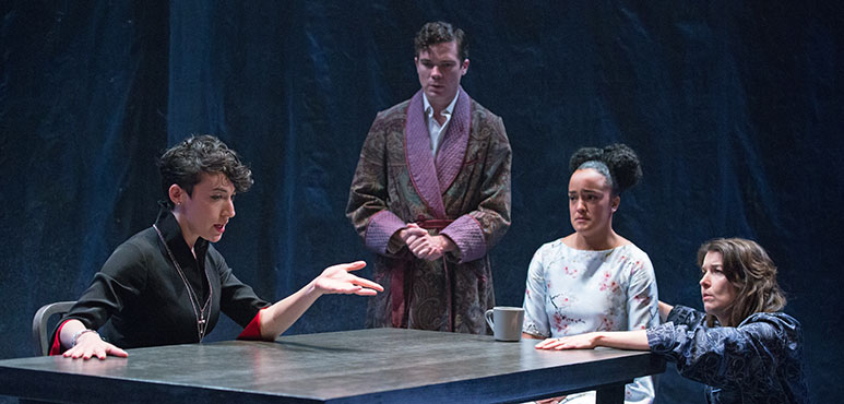 From left: Sara Farb as Mary, André Morin as Parry, Bahia Watson as Bess and Laura Condlln as Ashley. Photography by Cylla von Tiedemann.