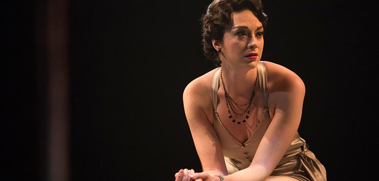 Mikaela Davies as Beatrice-Joanna. Photography by Cylla von Tiedemann.