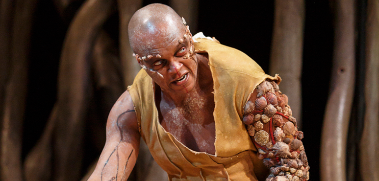 Michael Blake as Caliban. Photography by David Hou.