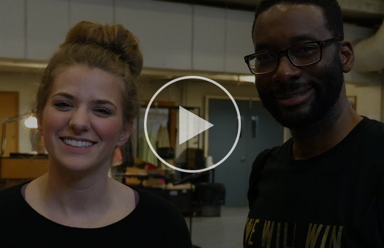 Hear what our leads Danielle and Daren have to say about the play!