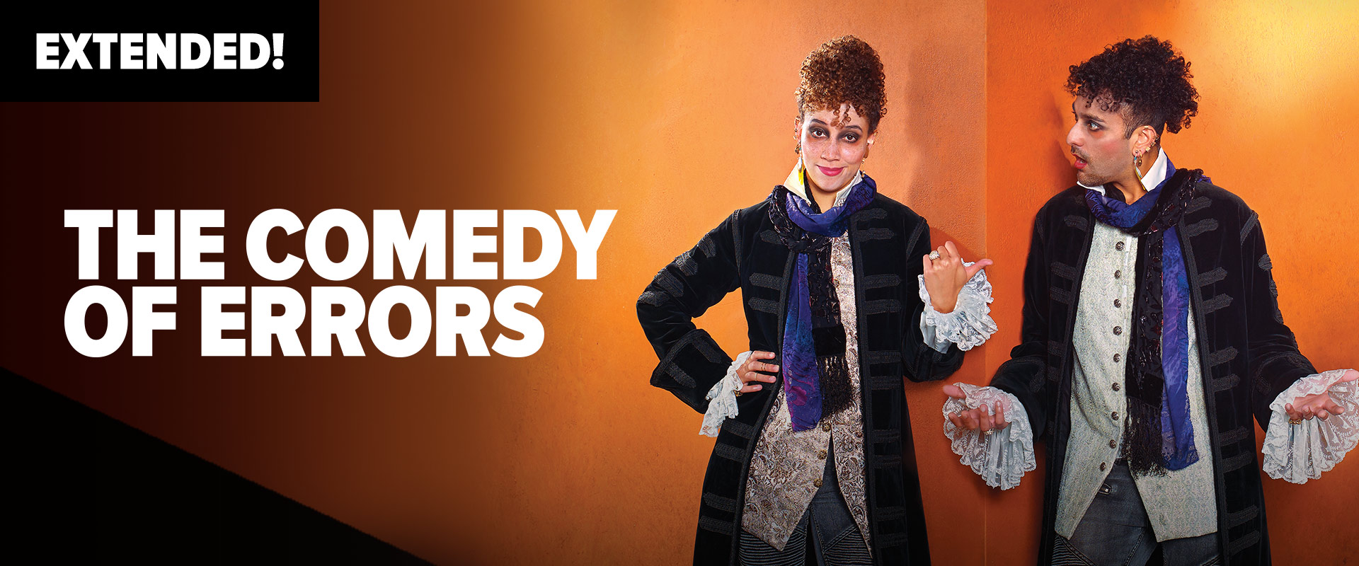 Publicity image from The Comedy of Errors