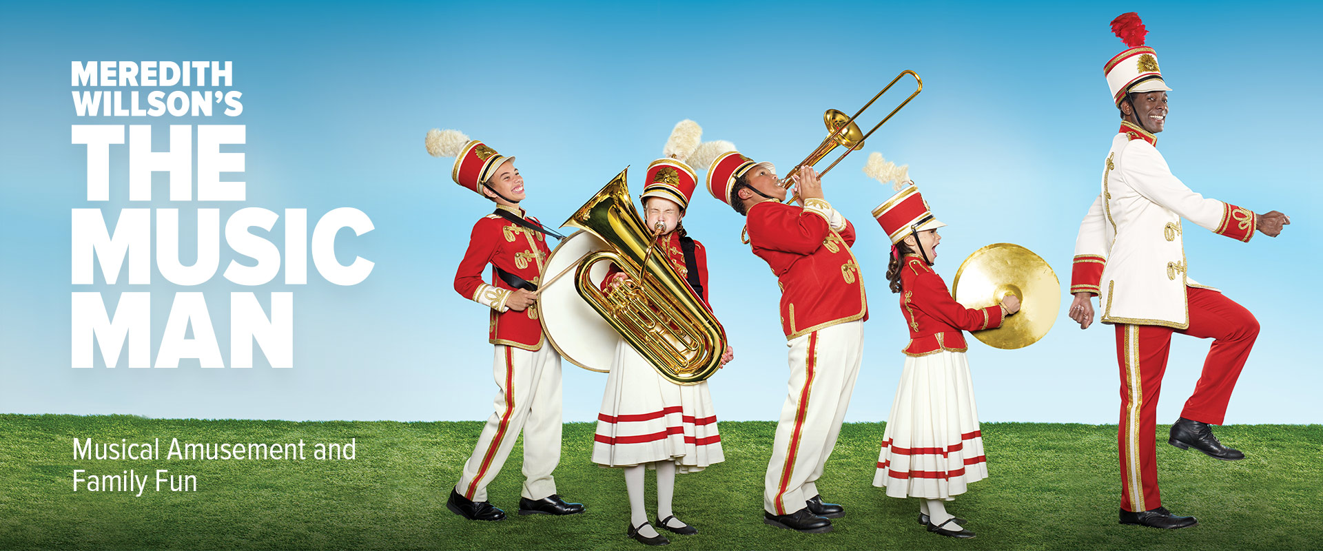 Publicity image from The Music Man