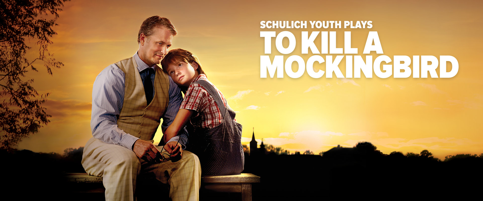 Publicity image from To Kill A Mocking Bird